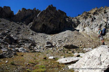 Near Mt. Hunt Divide.