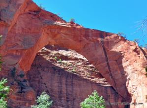 Kolob Arch, in Kolob Canyons.
