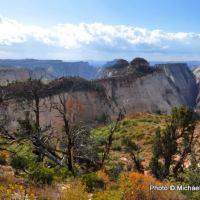 West Rim Trail view.