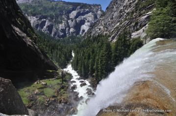 Vernal Fall, Mist Trail.