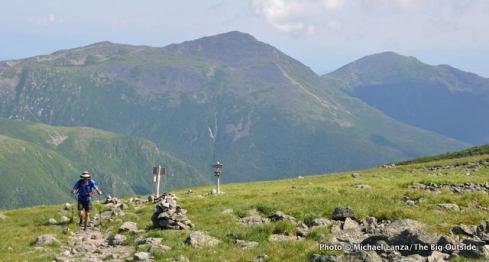 Hiking Mount Washington, Presidential Range, N.H.