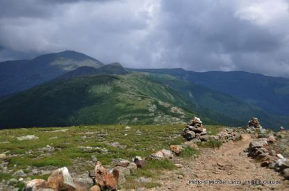 The view north from Mount Eisenhower.