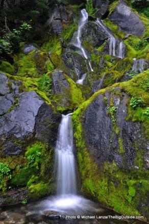 Waterfall along Wonderland Trail.