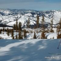 Skiing Banner Ridge.