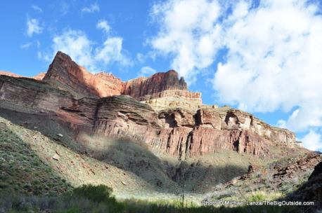 Bright Angel Canyon, North Kaibab Trail.