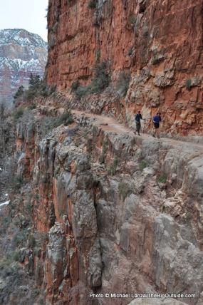 Roaring Springs Canyon, North Kaibab Trail.