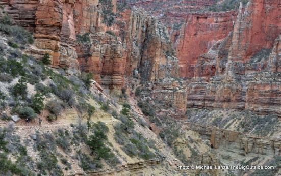 Roaring Springs Canyon, North Kaibab Trail.