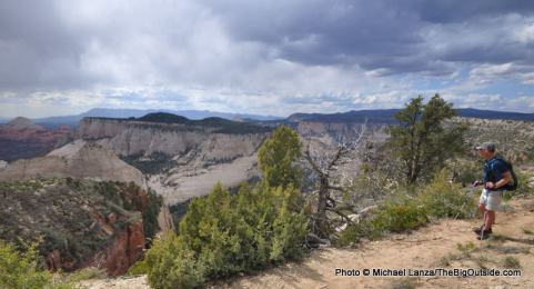 West Rim Trail.