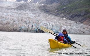 Reid Inlet, Glacier Bay.