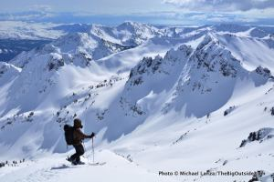 The view from Red Mountain, above Norway Basin.