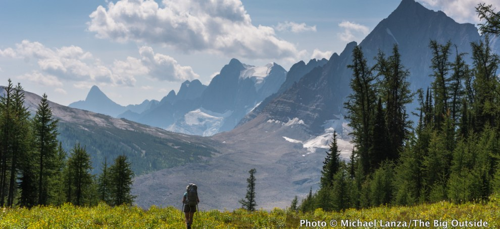 Rockwall Trail, Kootenay National Park, Canadian Rockies.
