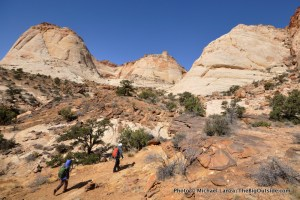 The Tanks Trail, Capitol Reef.