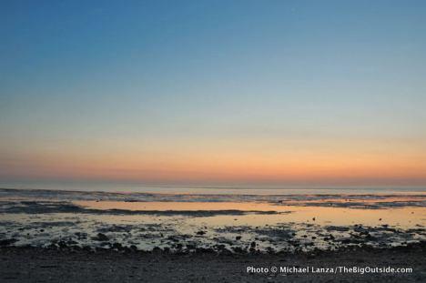 Dawn at Tiger Key.