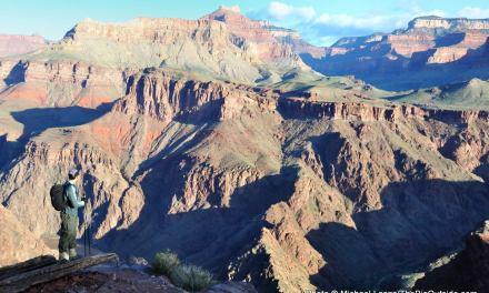 April Fools: Dayhiking the Grand Canyon Rim to Rim to Rim