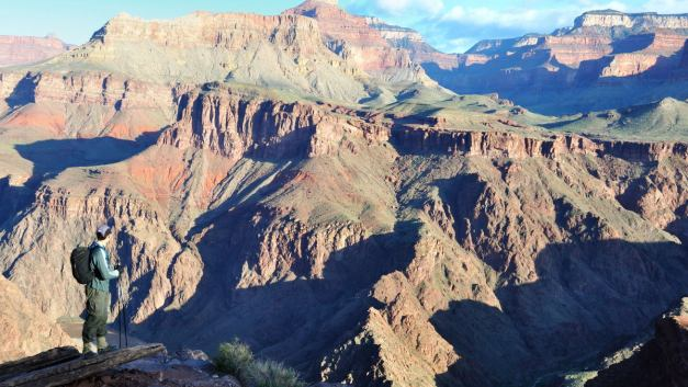 April Fools: Dayhiking the Grand Canyon Rim to Rim to Rim