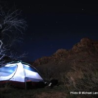 Cottonwood Creek campsite, Grand Canyon.