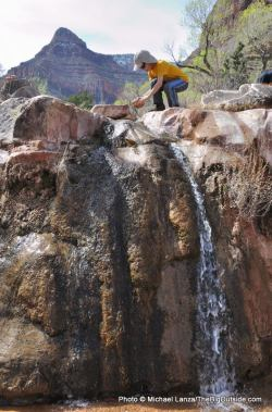 Cottonwood Creek, Grand Canyon.