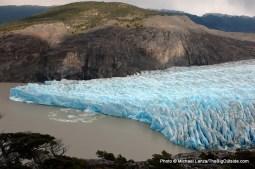 The Grey Glacier.