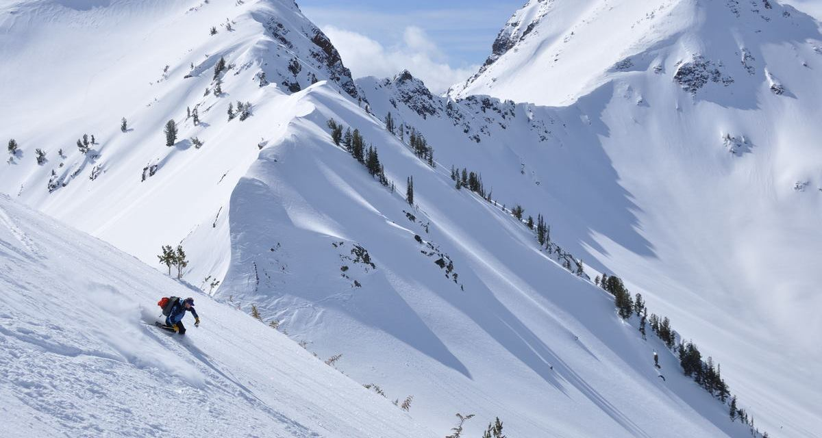 Bottomless Powder, Big Ski Lines in Oregon's Wallowa Mountains
