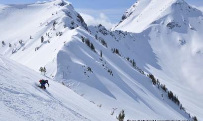 Bottomless Powder, Big Ski Lines in Oregon's Wallowa Mountains