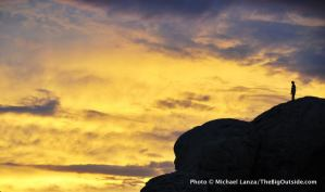 Sunset at City of Rocks.