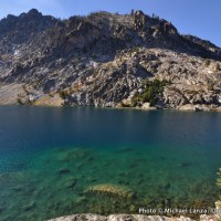 Upper Bench Lake, Sawtooth Mountains.