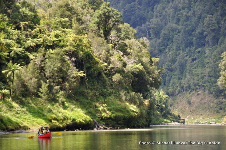 Whanganui River, day one.