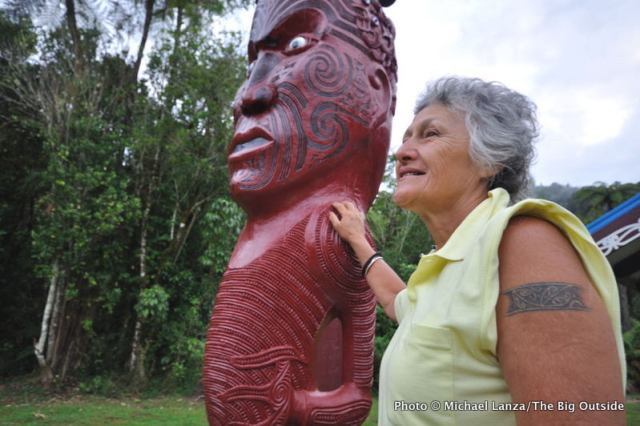 Tieke Kainga, Maori marae, Whanganui River, Whanganui River Journey, Whanganui National Park.