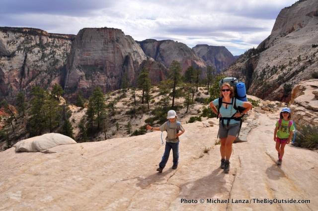 West Rim Trail, Zion National Park, Utah.