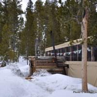 Bench Lakes yurt.