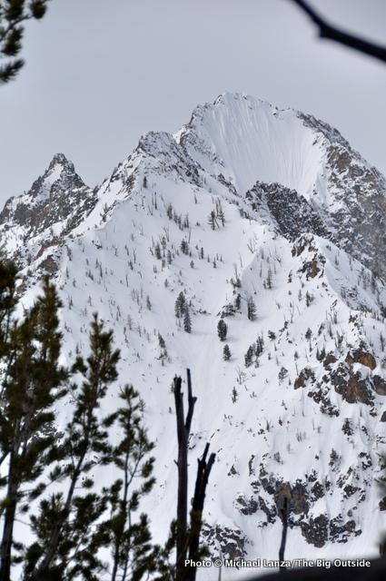 Horstman Peak, Sawtooths.