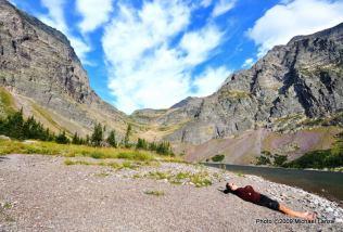 Lake Ellen Wilson, Glacier National Park.