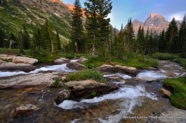 North Fork Cascade Canyon, Grand Teton National Park.