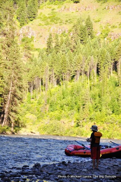 First campsite, Grand Ronde River, Oregon.