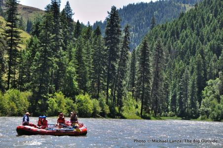 Rafting the Grand Ronde River, Oregon.
