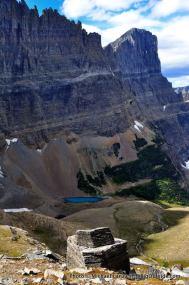 Below Piegan Pass, Glacier National Park.