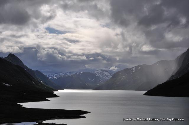 Lake Gjende, Jotunheimen N.P., Norway.