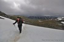 Trekking Fondsbu to Olavsbu.