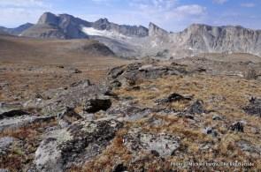 The Lizard Head Plateau.
