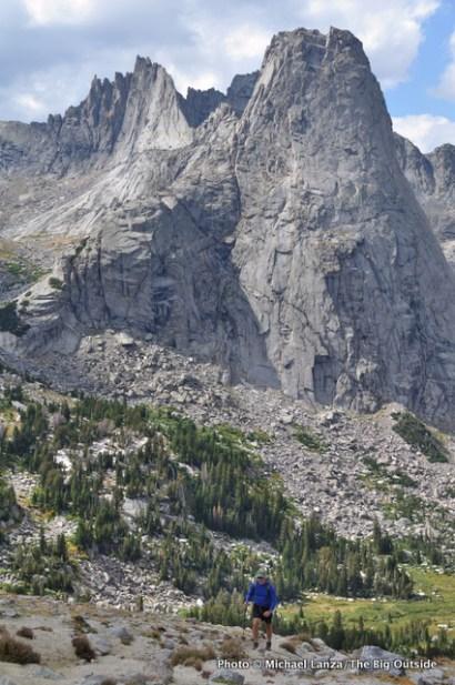 Below Pingora Peak, Cirque of the Towers.