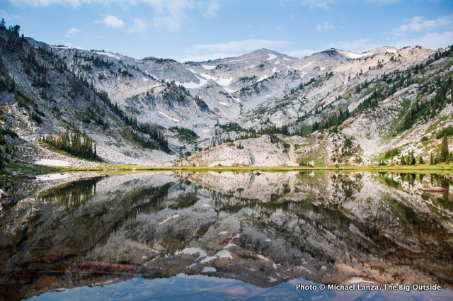Little Frazier Lake in Oregon's Eagle Cap Wilderness.