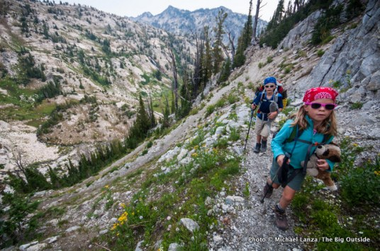 Trail 1820 to Hawkins Pass