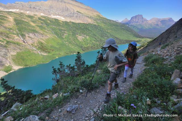 Gunsight Pass Trail, Glacier National Park.