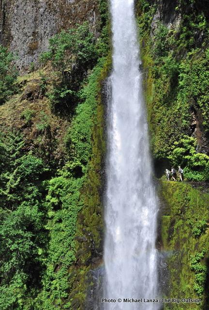 Tunnel Falls, Eagle Creek Trail, Columbia Gorge, Oregon.