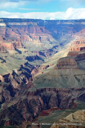 Grand Canyon viewed from the South Rim.