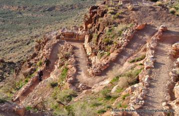 South Kaibab Trail.