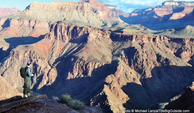 A Grand Ambition, or April Fools? Dayhiking the Grand Canyon Rim to Rim to Rim