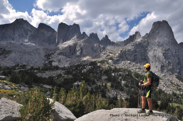 Cirque of the Towers, Wind River Range, Wyoming.