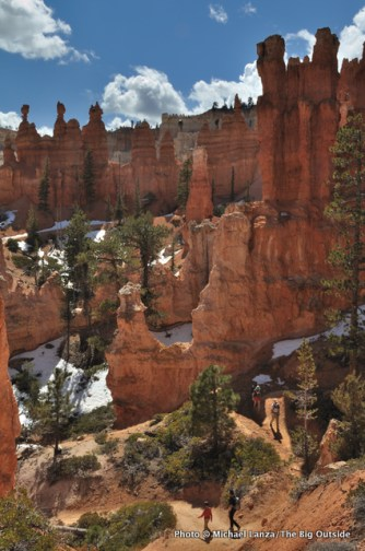 Peek-a-Boo Loop, Bryce Canyon.