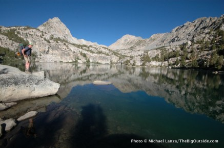 Lower Lamarck Lake, John Muir Wilderness.